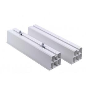 Support climatiseur au sol PVC, max-80 kg