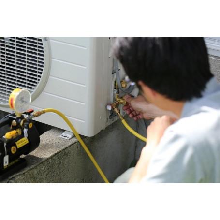 Pose et mise en service d'un climatiseur dos à dos - max 3ml