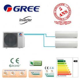 BI SPLIT GREE GWHD18NK3FO +1 GWH07 +1 GWH12 5500W A+