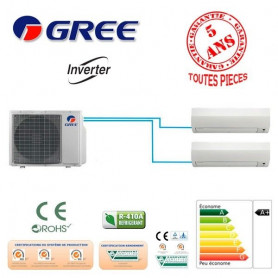 BI SPLIT GREE GWHD18NK6LO +1 GWH09 +1 GWH09 5500W A++/A+
