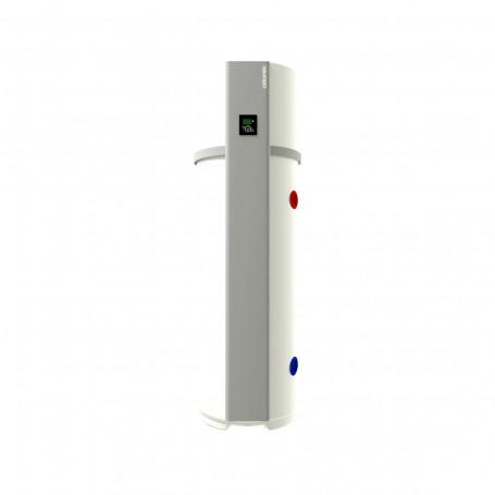 Chauffe-eau thermodynamique Calypso connecté vertical sur socle 200L