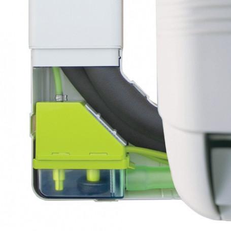 Pompe de relevage pour climatiseur dans goulotte